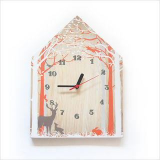 Clock Ply House: Forest