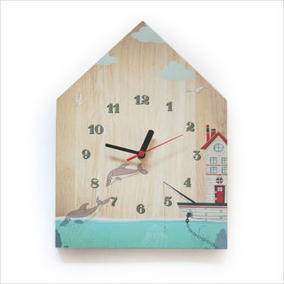 Clock Ply House: Boat House
