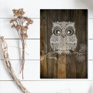 Plywood Rectangle: DW Morepork (Large)