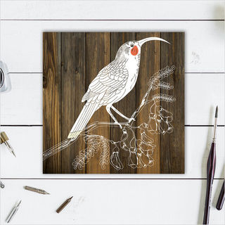 Plywood Art Block: DW Huia