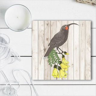 Plywood Art Block: LW Huia