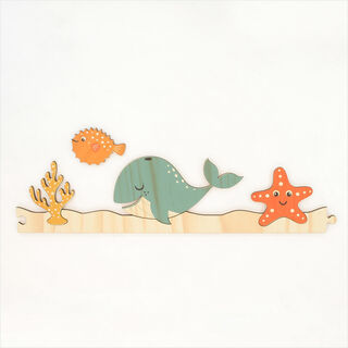 Pine Jigsaw Strip : Under the Sea 1