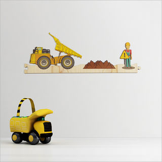 Pine Jigsaw strip: Construction Site 1