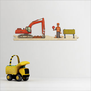 Pine Jigsaw strip: Construction Site 2