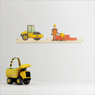 Pine Jigsaw strip: Construction Site 3