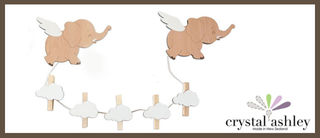 Art Pegs : Flying Elephant