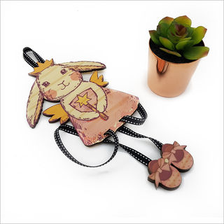 Hairclip Tidy : Fairy Bunny