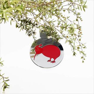 Mirror Acrylic Bauble : Kiwi