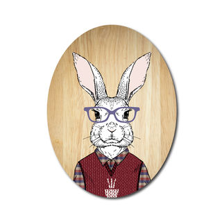 Ply Oval: Rabbit