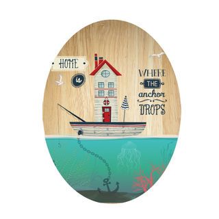 Ply Oval: Boat House