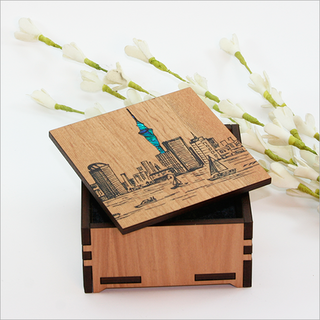 Small Trinket Box : Auckland