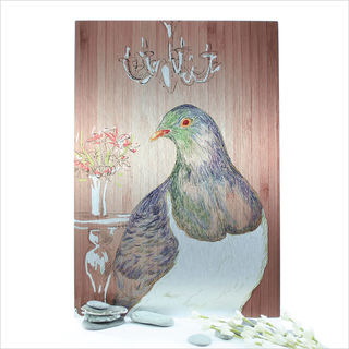 ACM Printed Rectangle : Kereru Portrait (Small)