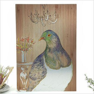 ACM Printed Rectangle : Kereru Portrait (Large)