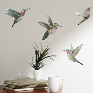 Printed ACM Birds Set: Humming Birds