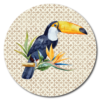 Printed ACM Circle: Toucan