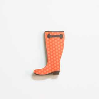 Printed Pine Mini: Gumboot