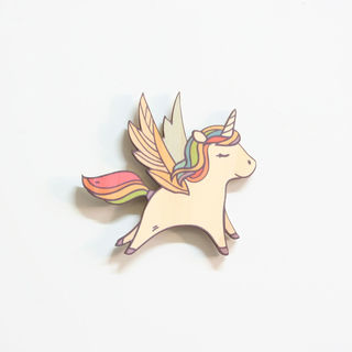 Printed Pine Mini: Unicorn