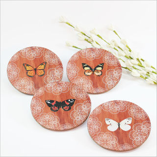 Coasters : Butterfly Lace