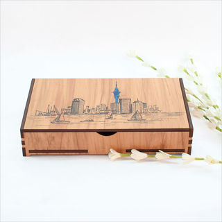 Large Rectangle Trinket Box : Auckland