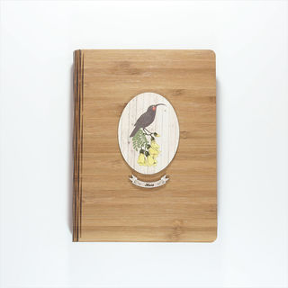 Bamboo Journal : Light Wood Huia