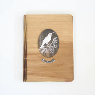 Bamboo Journal : Dark Wood Huia