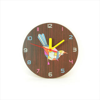 Clock : Tui Geometric Dark Oak