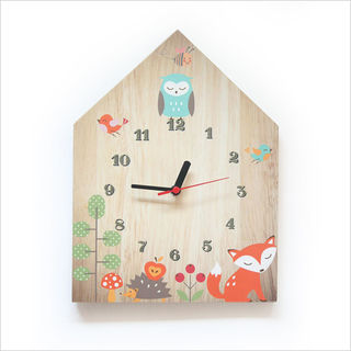 Clock Ply House: Woodland