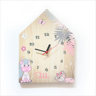 Clock Ply House: Pony
