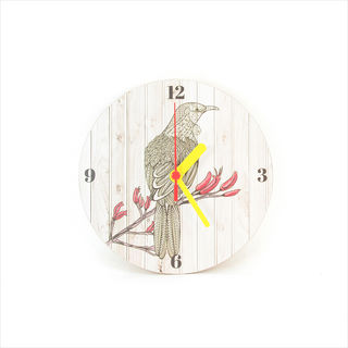 Clock: Tui Light Wood