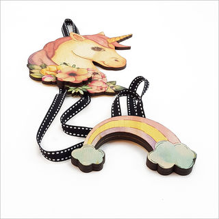 Hairclip Tidy : Unicorn