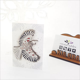 Gift Card with embellishment: KWW Tui