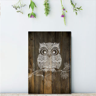 Plywood Rectangle: DW Morepork (Small)