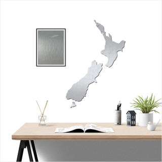 Large NZ: Brushed Silver ACM