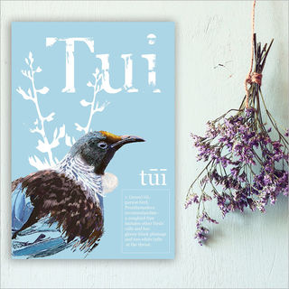 ACM Printed Rectangle Large: Tui Poster