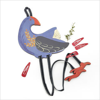 Hairclip Tidy : Pukeko