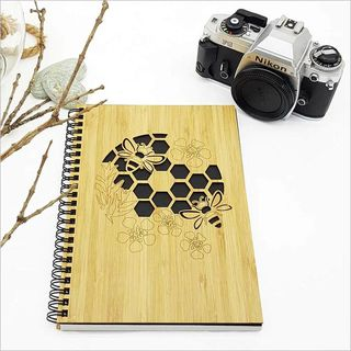 Small Bamboo Journal: Honeycomb