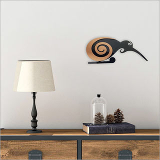 2Tone Wall Art: Moko Kiwi Small