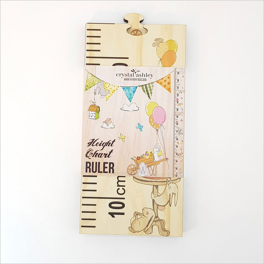Growth Chart Ruler : Woodland Party