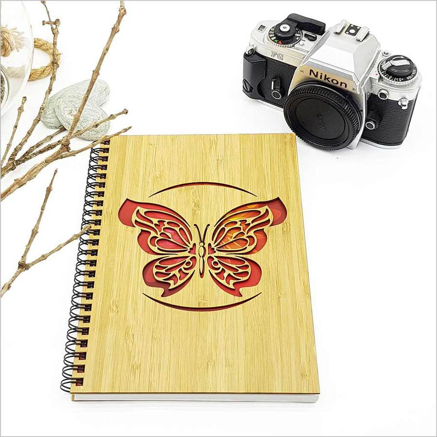 Small Bamboo Journal: Butterfly