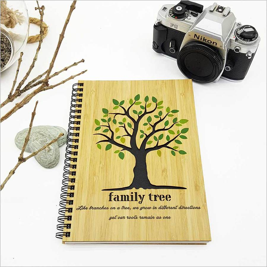 Small Bamboo Journal: Family Tree